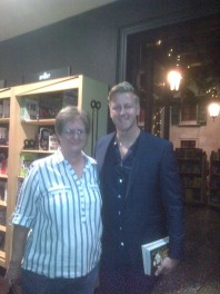 with Gareth Cliff