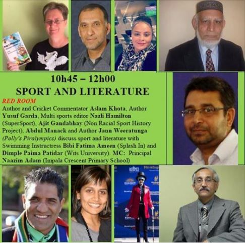 JBBF2017 Sports and Literature panel