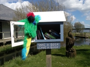 little libraries Lough Neagh