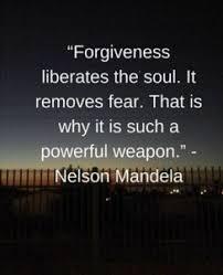 Mandela forgiveness