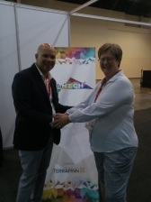 with Deon Oesen Speaker at Edutech
